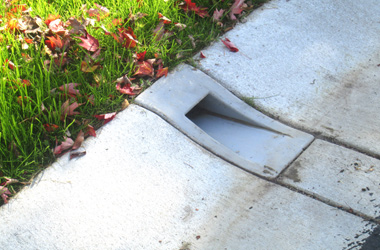Easy to install Curb Drain!